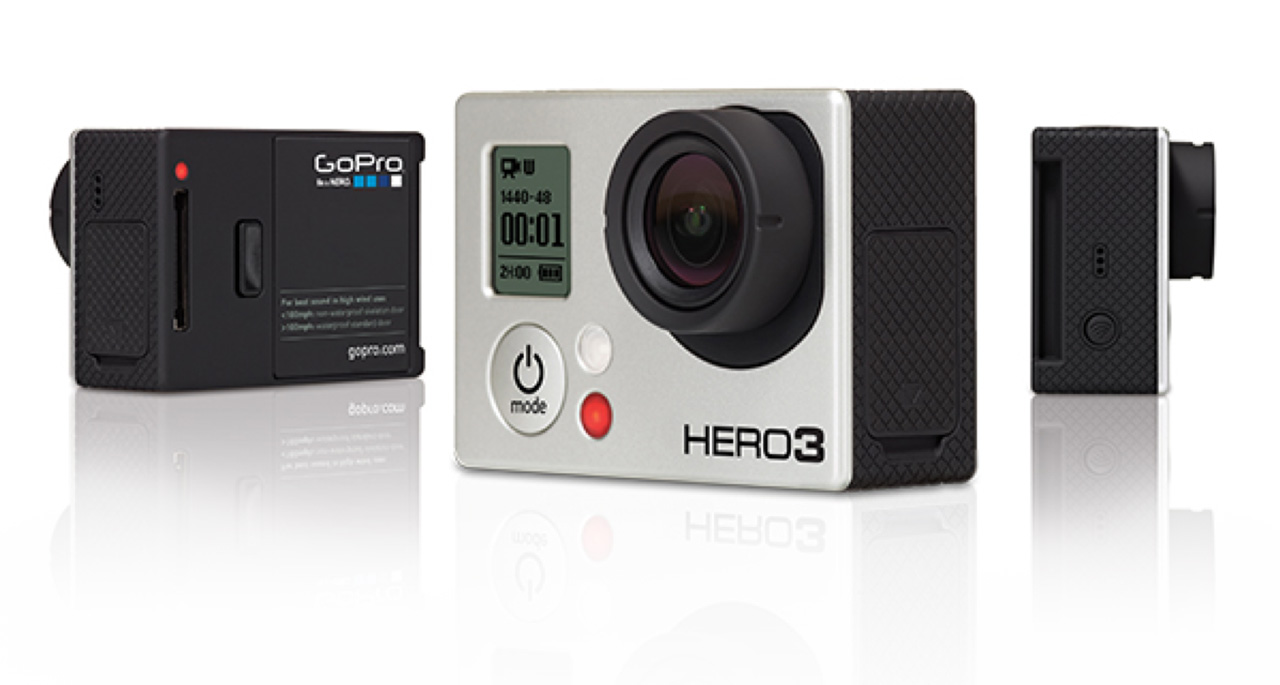 Gopro hero 3 riprese video sportive in alta definizione for Definizione camera