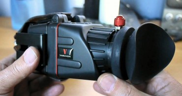 Hood loupe - Monitoring reflex HD-DSLR video