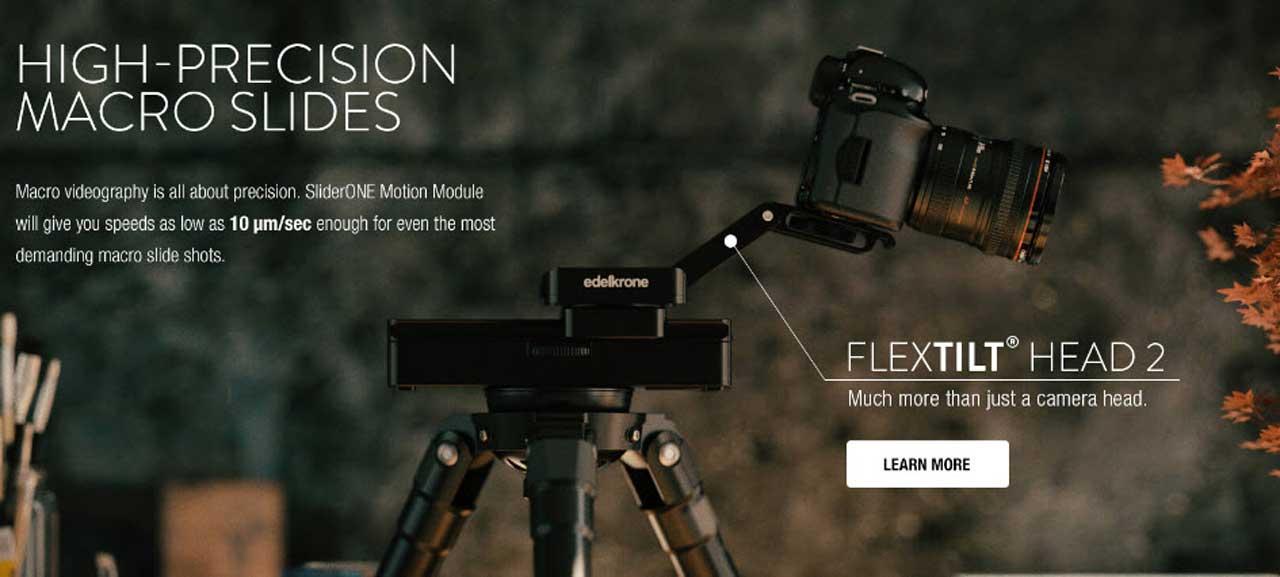 Motion Module per SliderONE di Edelkrone