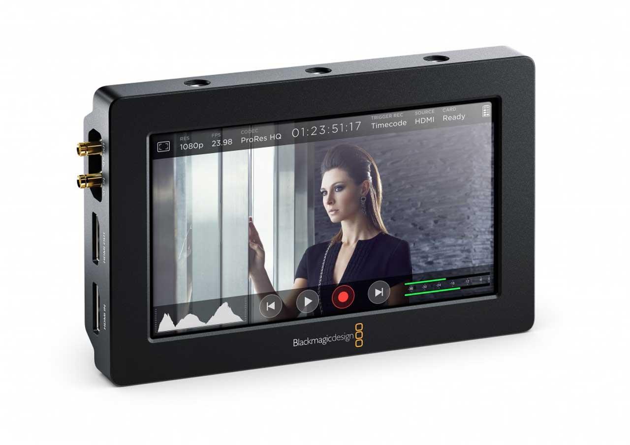 Video Assist aggiunge i 3D LUTs - Novità per il 4K recorder BMD