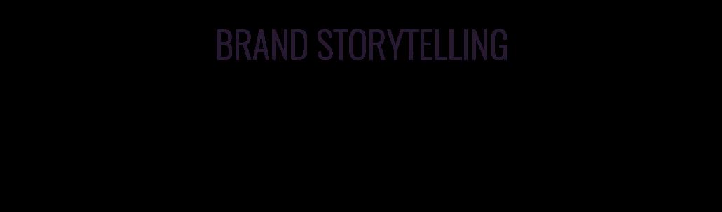 Brand storytelling video e video storyteller