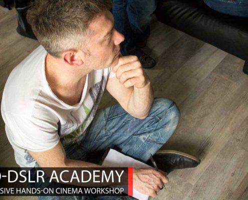 Corso di cinema professionale e workshop sul montaggio - HD-DSLR Academy
